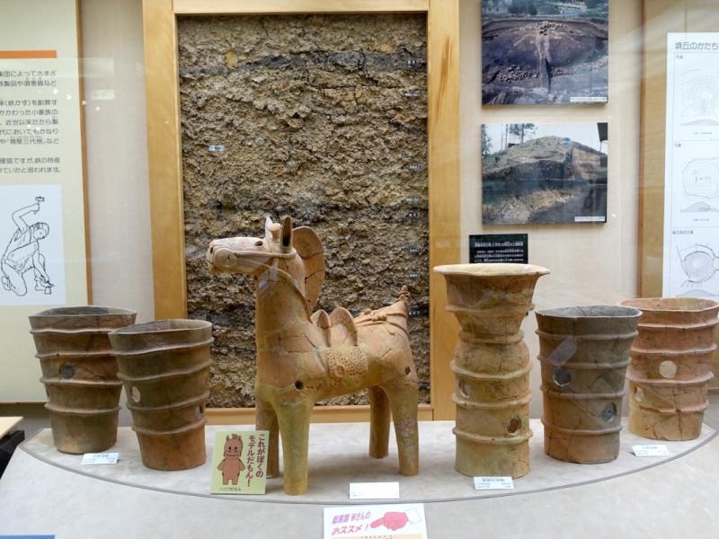 Miyoshi Fudoki-no-oka History and Folklore Museum display 2