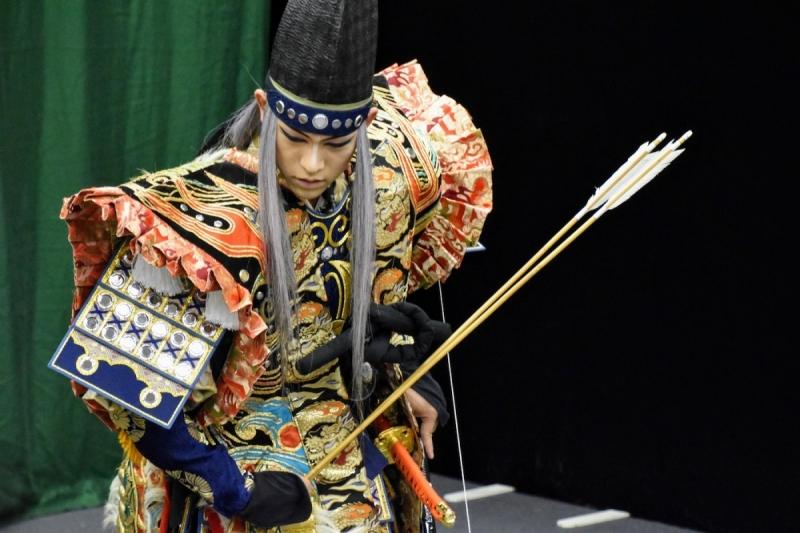 English Kagura Experience - Minamoto no Yorimasa - 1 of 7 (1)