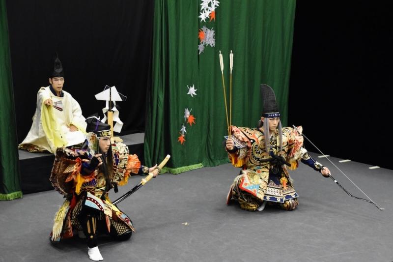 English Kagura Experience - Minamoto no Yorimasa - 1 of 7 (3)