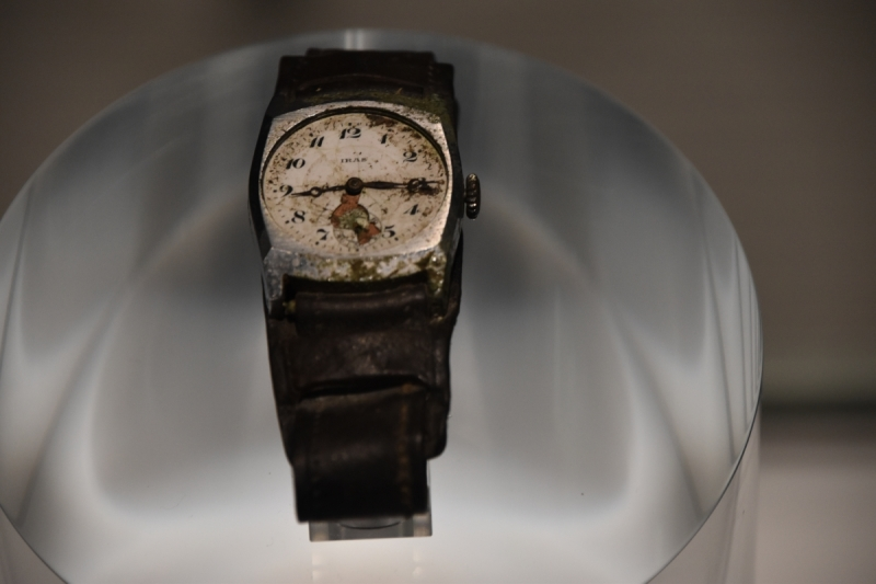 Hiroshima Peace Memorial Museum - Watch